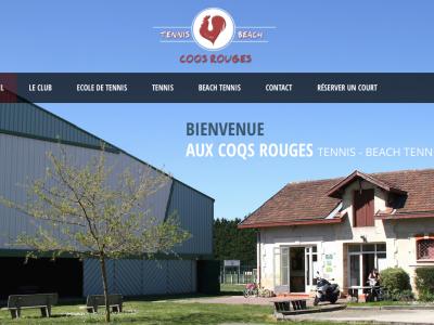 Nouveau Site Web - Coqs Rouges Tennis