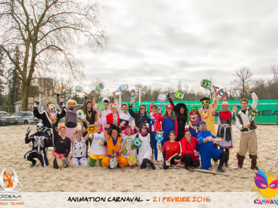 Animation Beach Tennis Carnaval
