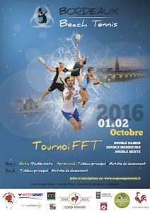 Tournoi FFT Beach Tennis 2016