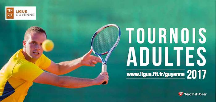 Les tournois adultes 2017
