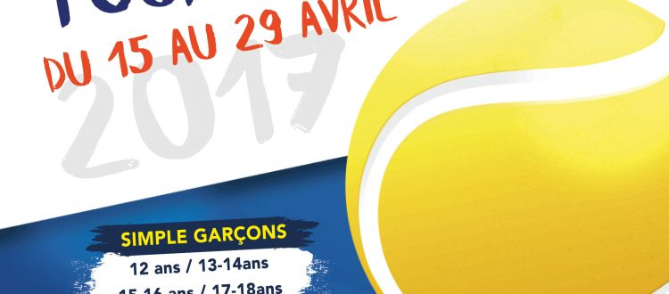 Affiche tournoi jeunes 2017